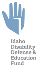 Idaho Disability Defense and Education Fund Logo